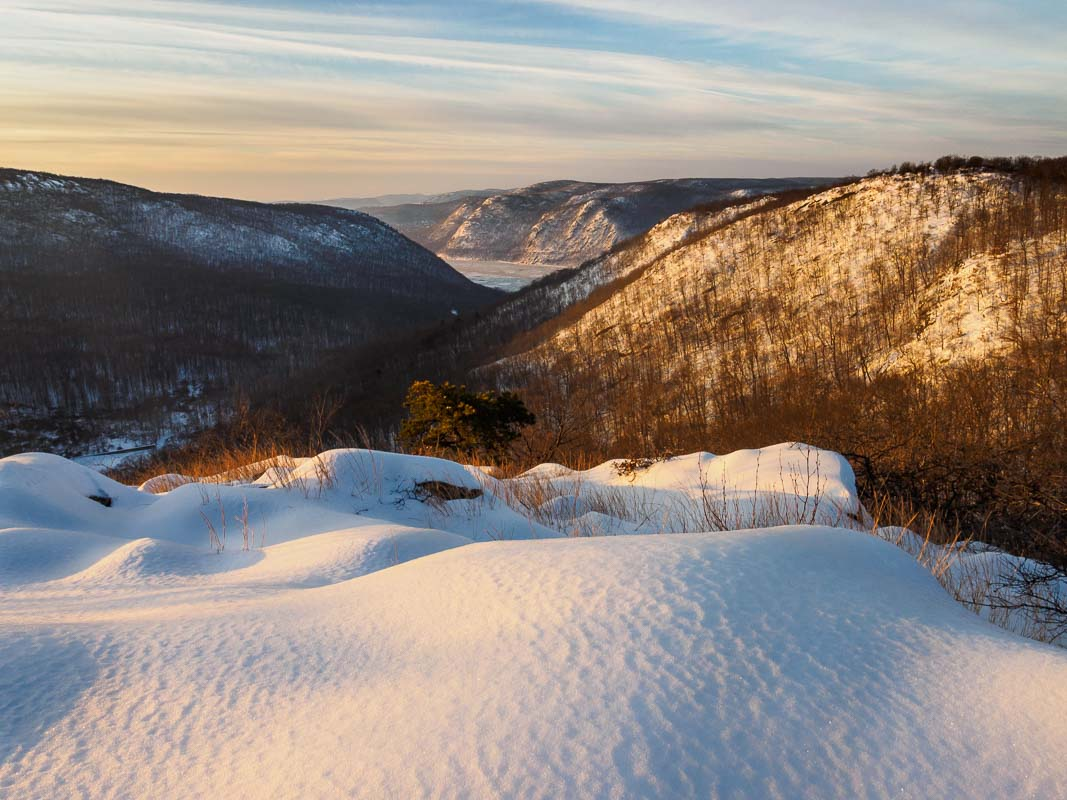 Snow and Light, Hudson Valley