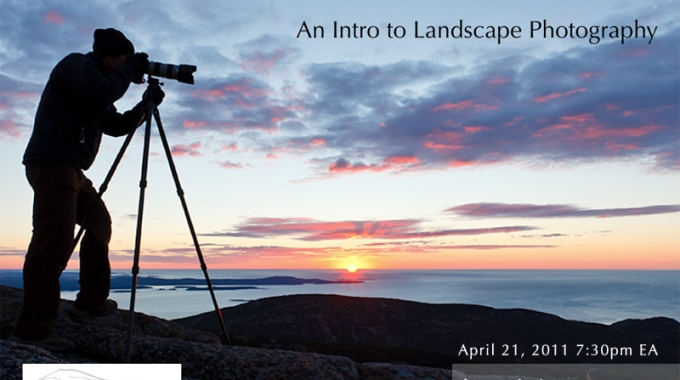 Free Webinar – The Art of Seeing- An Intro to Landscape Photography