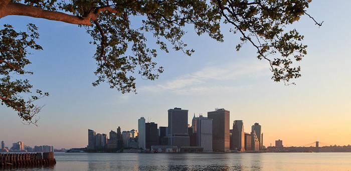 Hudson View, Battery Park