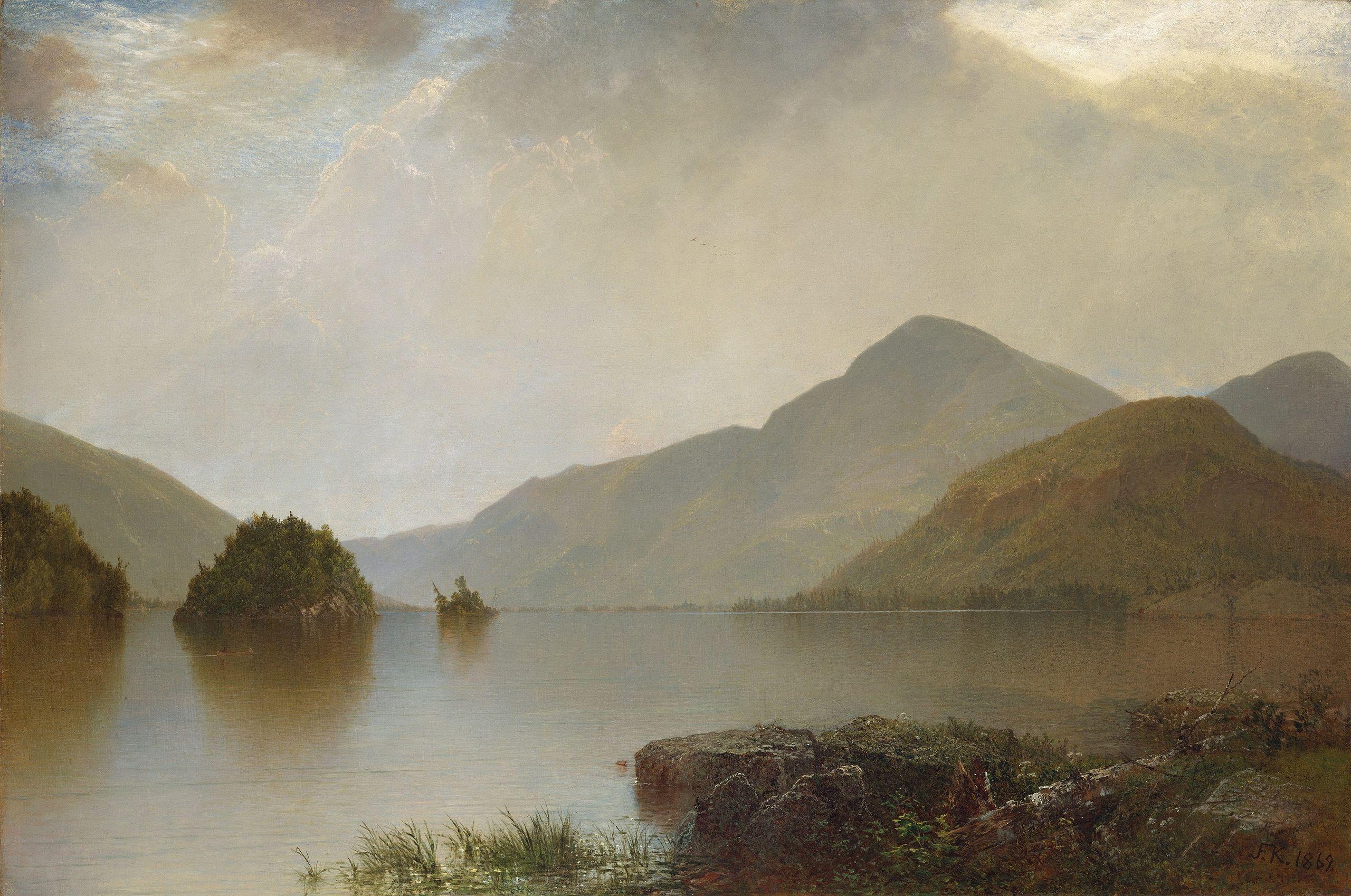 John F Kensett, Lake George