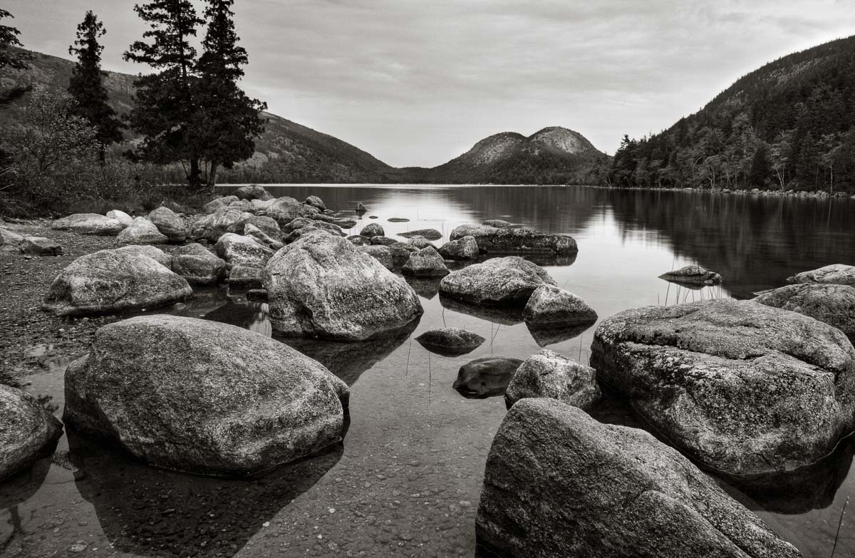 Boulders at Shore, Acadia NP