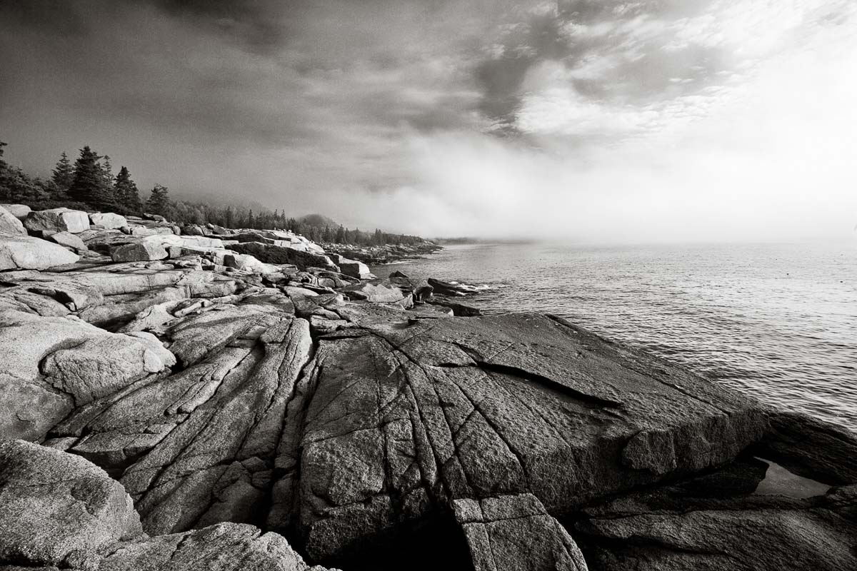 Mist at Sea, Maine