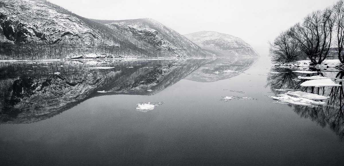 Winter's Calm, Hudson River