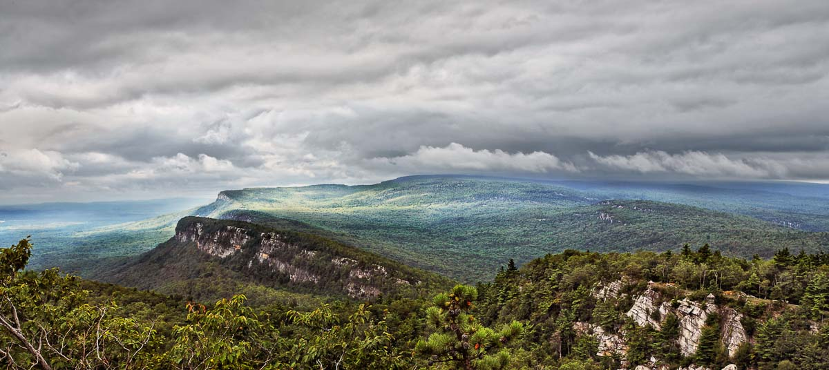 Storm Clouds Over Mohonk