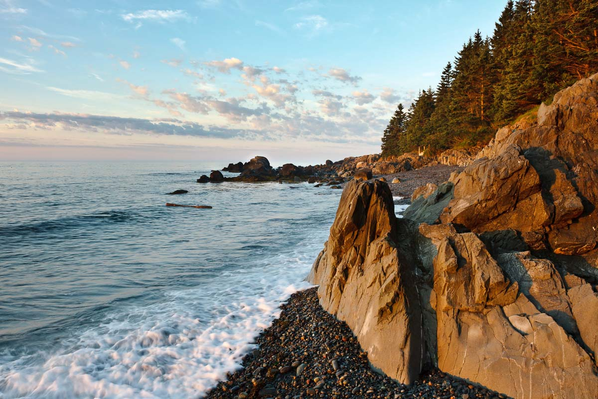 Rock Walls, Maine