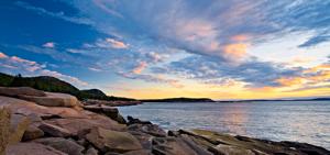 First Light on Acadia