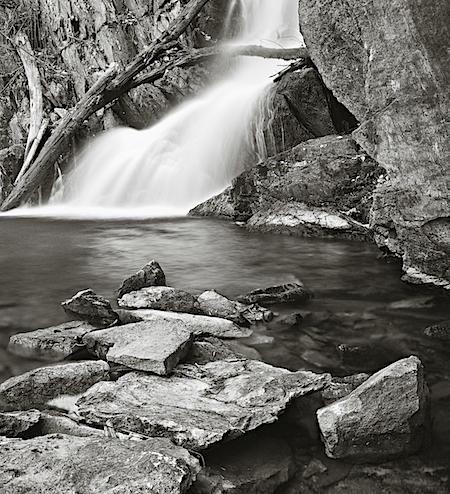 Spring at Indian Brook Falls