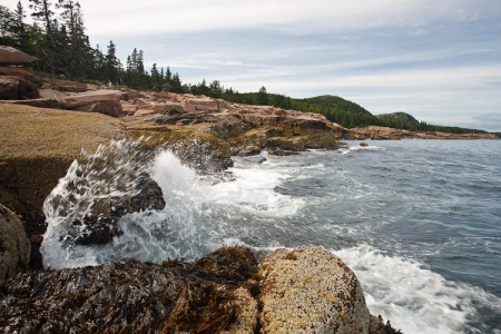 Rough Water, Acadia Coast