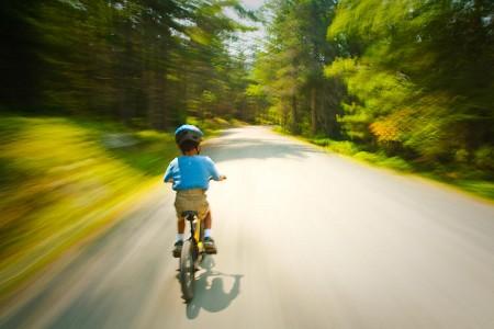 Biking in Acadia