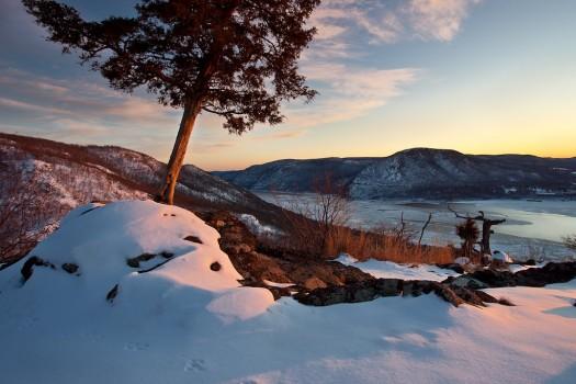 Hudson Valley Solitude, Hudson River, NY