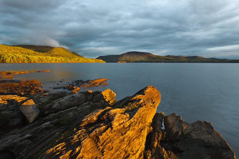 Last Light On The Highlands, Hudson Valley