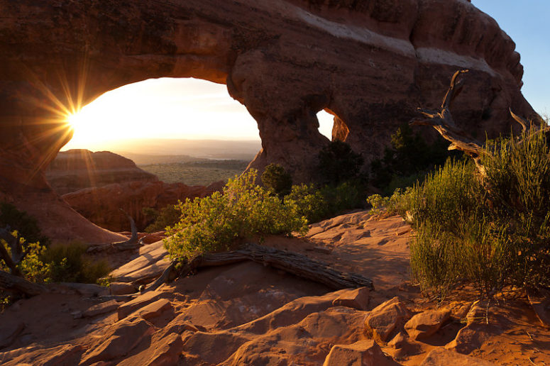 """Photo Of The Day-""""Light At Partition Arch"""""""