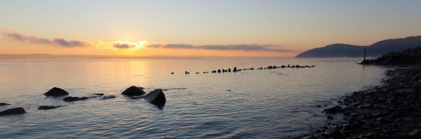 Haverstraw Sunrise, Hudson River