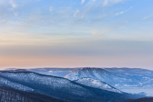 Winter Light, Hudson Highlands, NY
