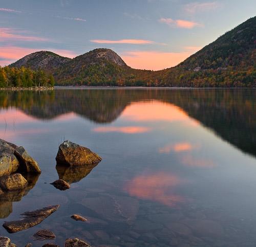 Jordan Sunrise, Acadia