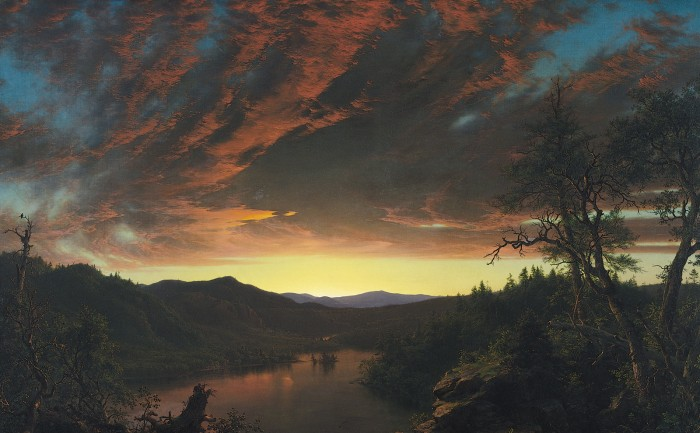 Twilight in the Wilderness - Frederic Church