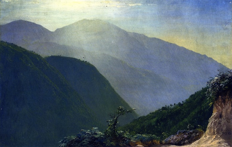 In The Blue Mountains, Jamaica - Frederic Edwin Church (1865)