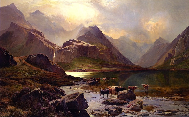 Loch Coruisk, Isle of Skye - Sidney Richard Percy, 1874