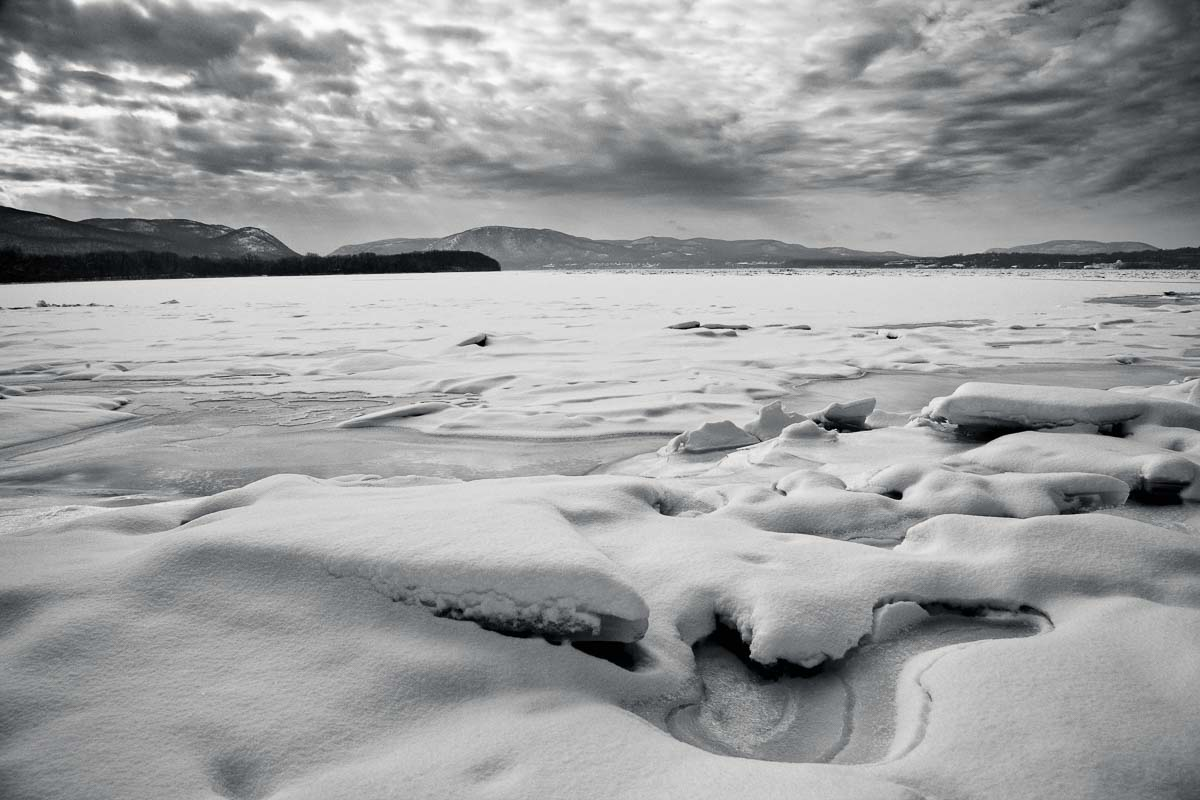 Clouds of Ice, Hudson River