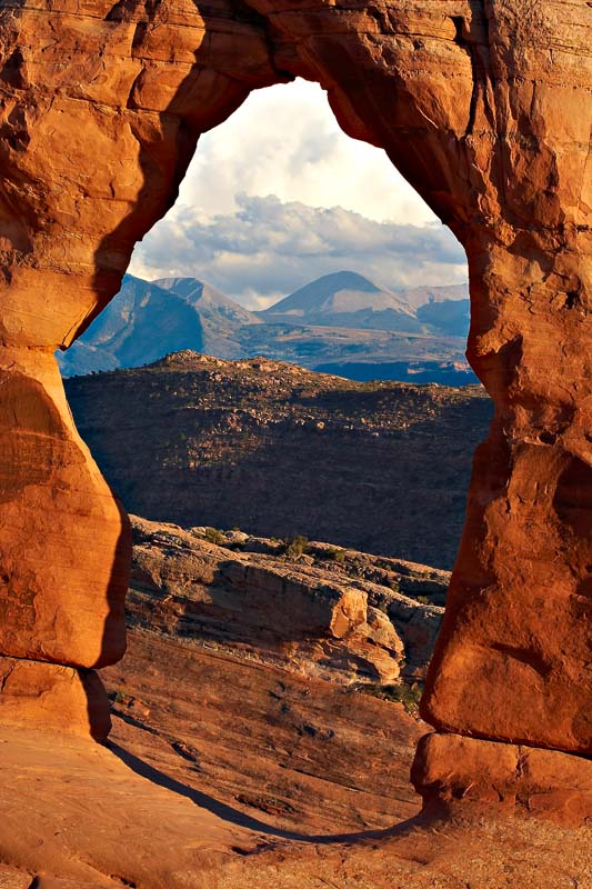 Delicate Window, Arches NP, Utah