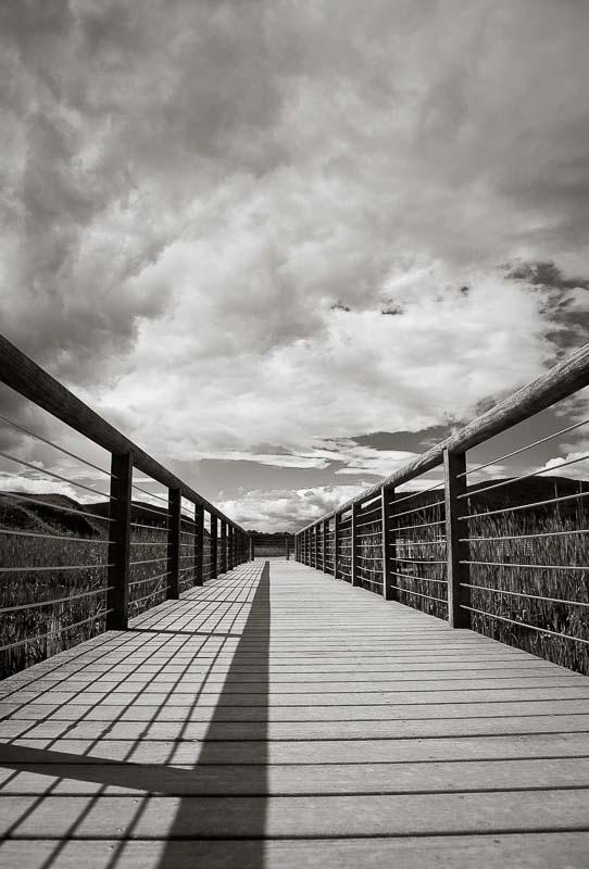 Lightwalk, Hudson River