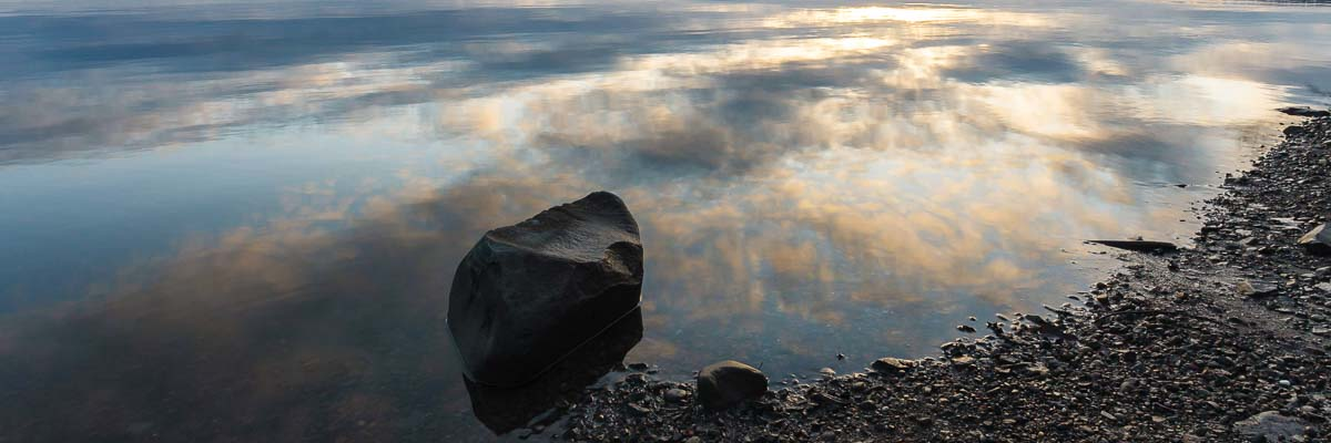 Mirror Rock, Hudson River