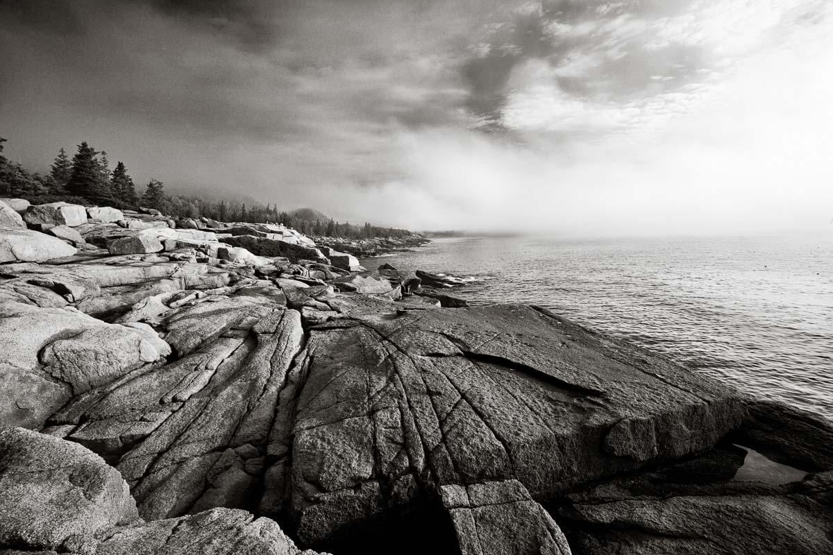 Mist at Sea, Maine