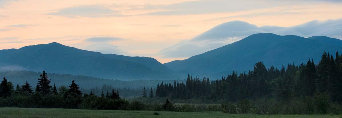 Morning Mountains, Adirondacks