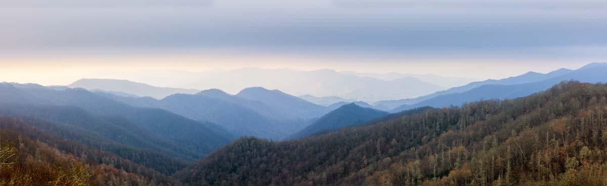 Mountain Views, Smokies