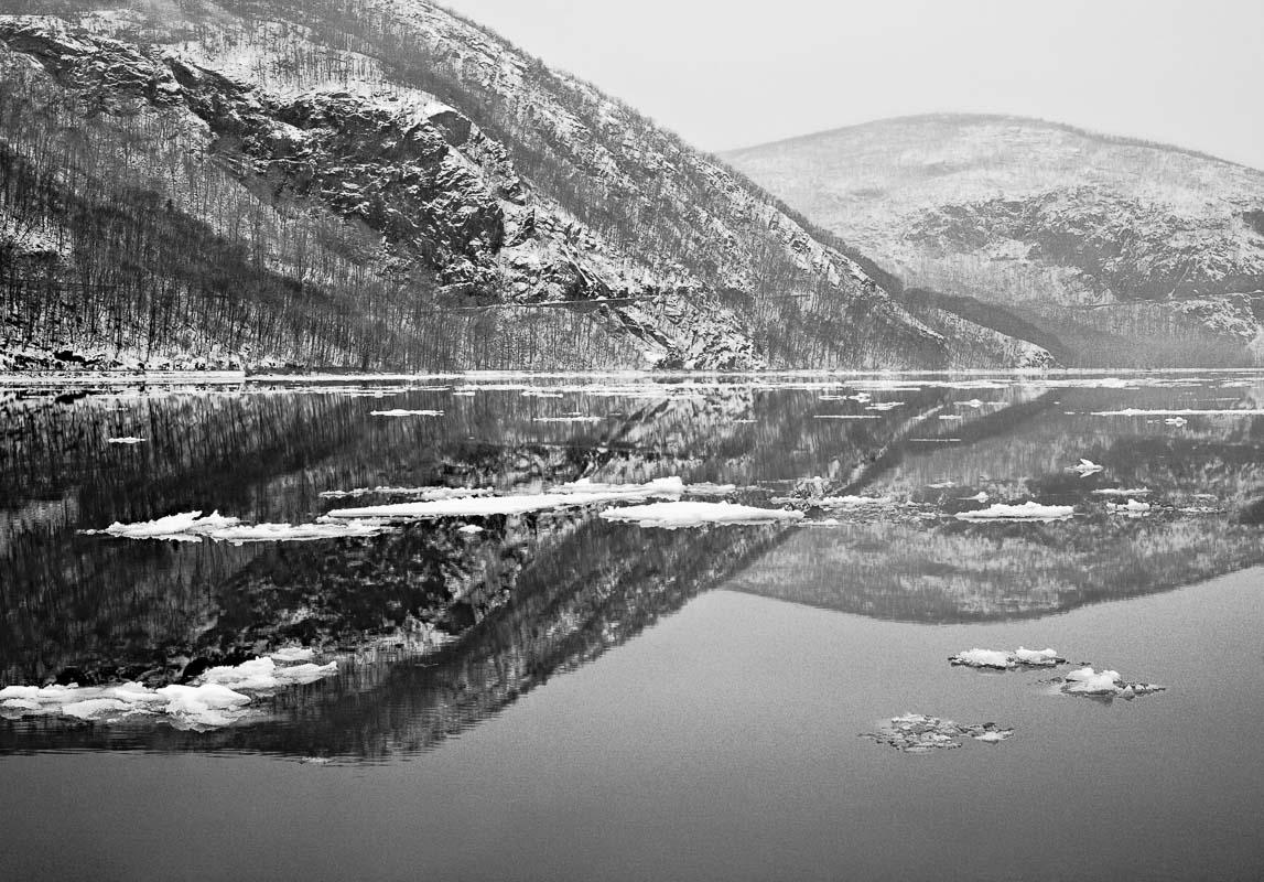 Storm King Reflections, Hudson River