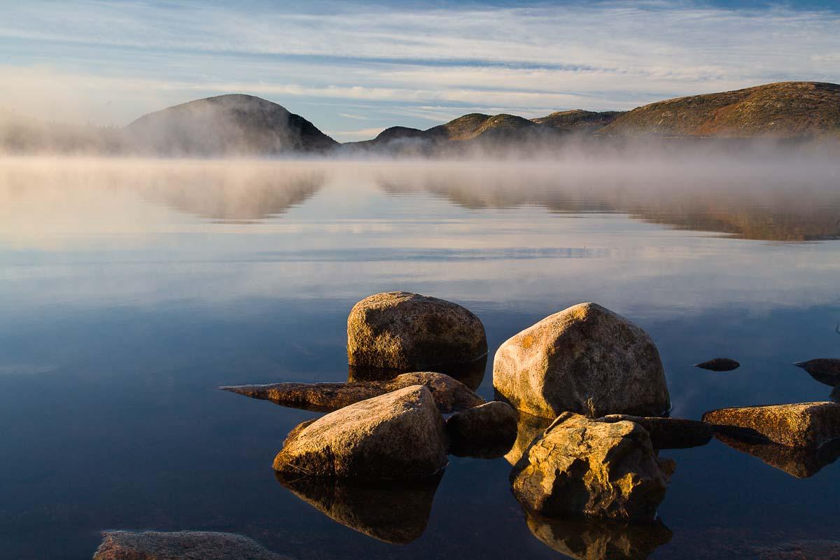 Sunrise Rocks, Acadia