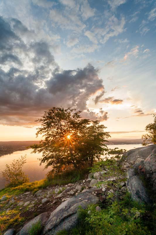 Sunset on Breakneck, Hudson Valley