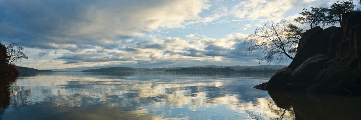 Water Color, Hudson River