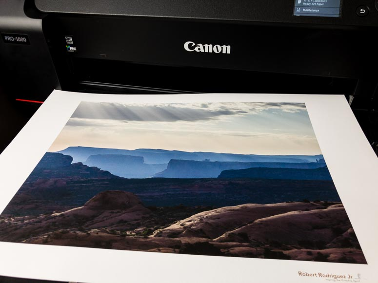 The Ultimate Printer: Canon Pro-1000 Field Test