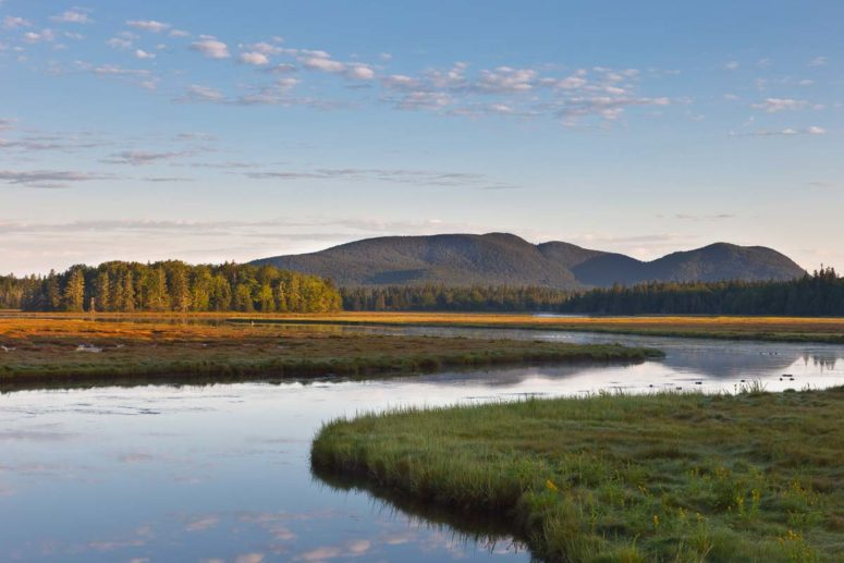 Bernard Mtn View, Acadia