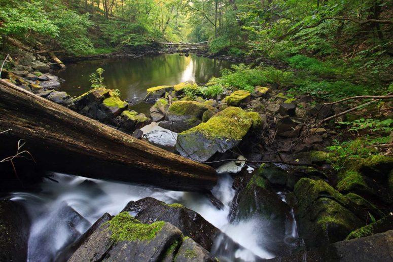 Black Creek Waterfall, New York