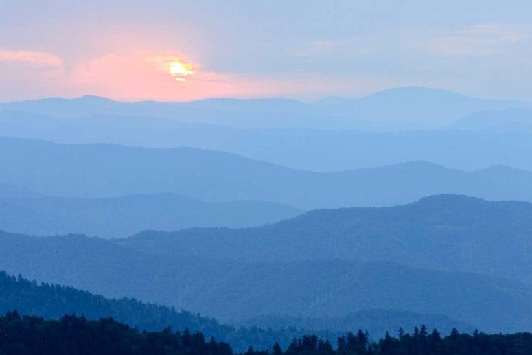 Blue Waves, Smoky Mountains