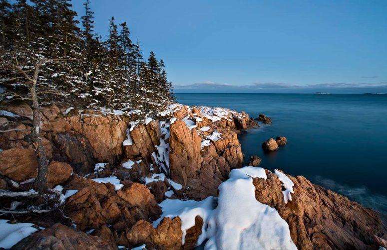 Coastal Twilight, Maine