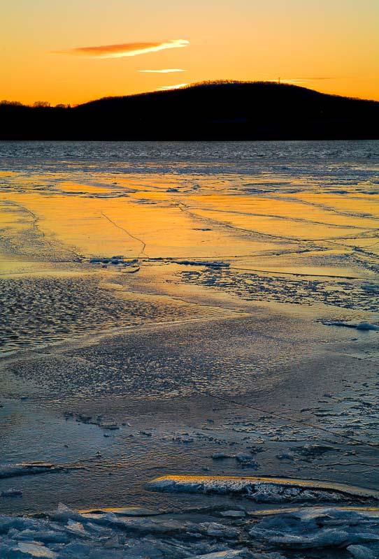 Frozen Color, Hudson River