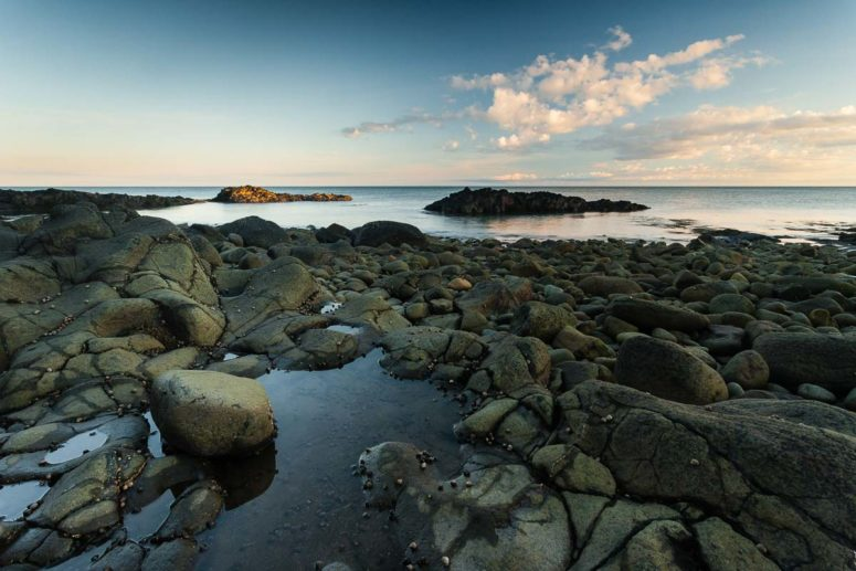 Light at Low Tide, Nova Scotia