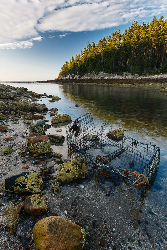 Lobster Cage, Maine