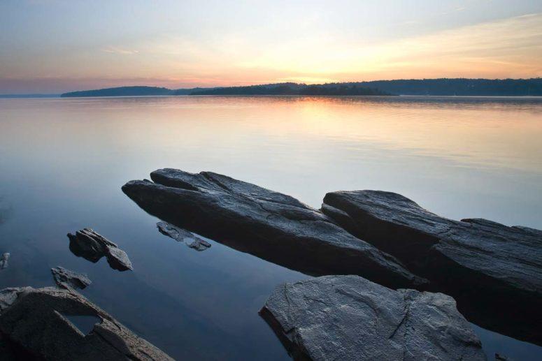 Low Tide, Hudson River
