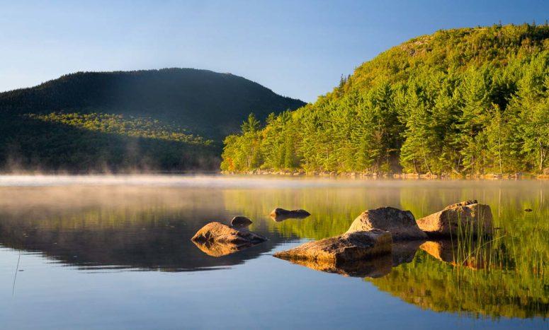 Morning Fog, Eagle Lake