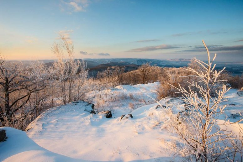 Mt Beacon Winter