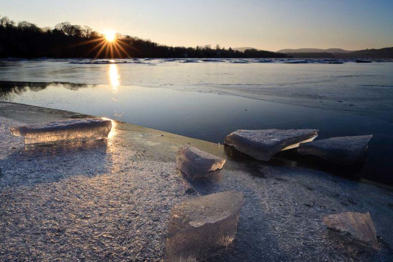 River of Ice, Hudson River