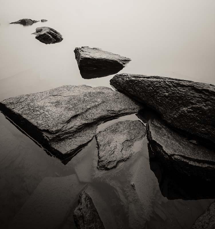 Rocks at Bay, NY