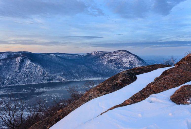 Twilight on Storm King, Hudson Valley